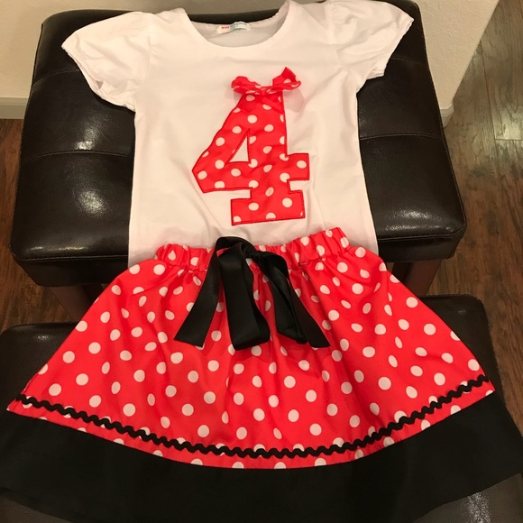 47fca416 Mud Kingdom Matching Sets   Minnie Mouse Inspired 4 Year Old ...